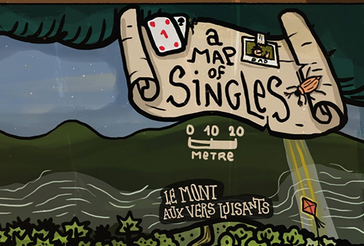 A map of Singles - student project