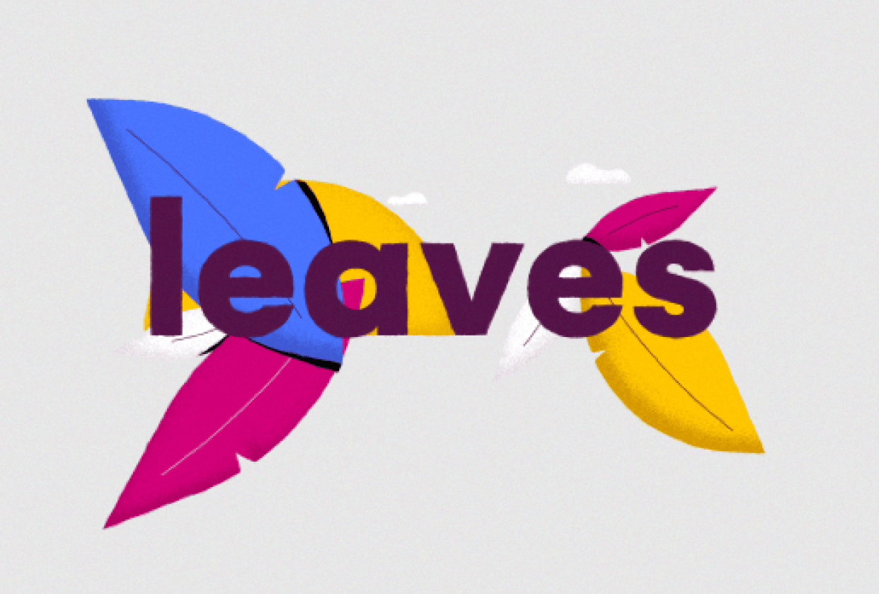 Animated Leaves - student project