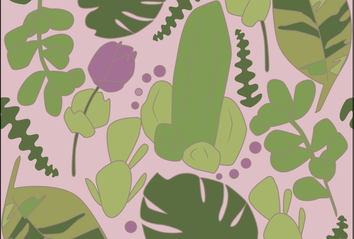 Cactus Pattern! - student project