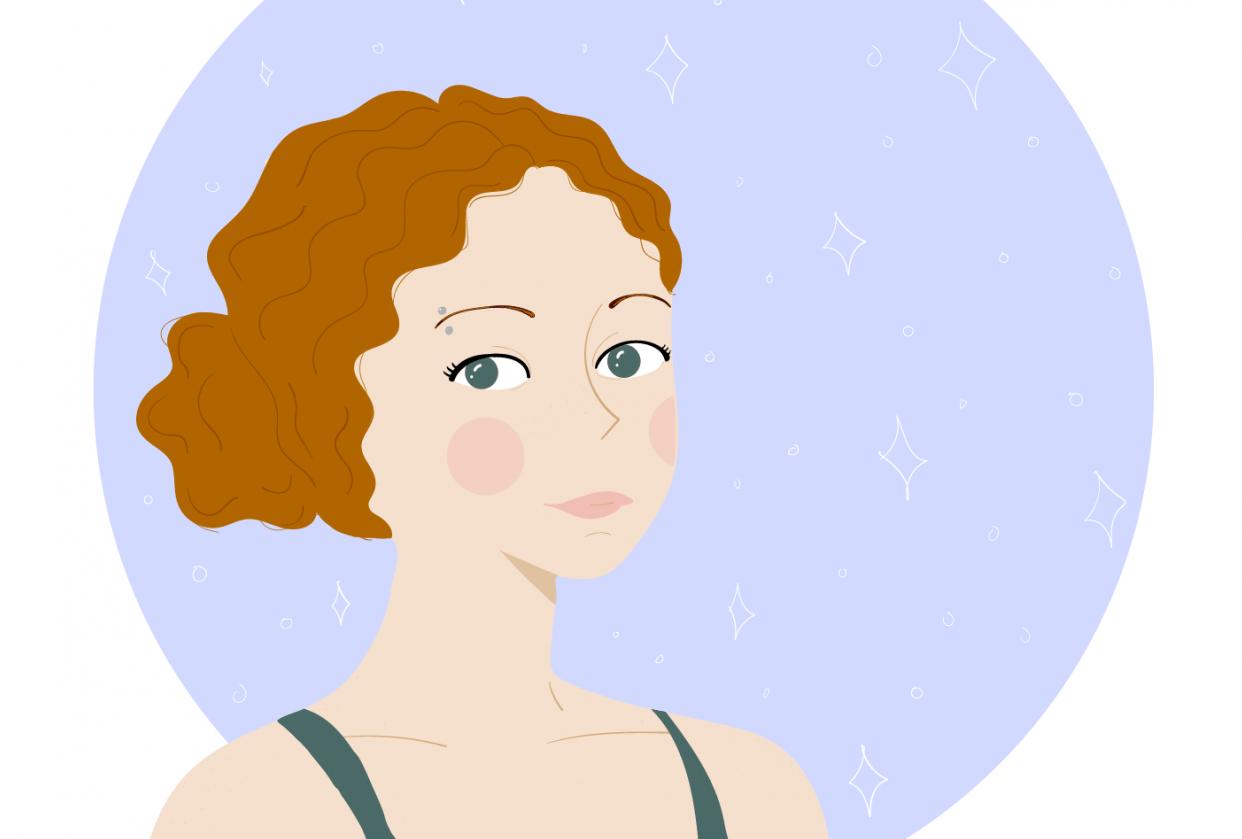 Portrait of a friend - student project