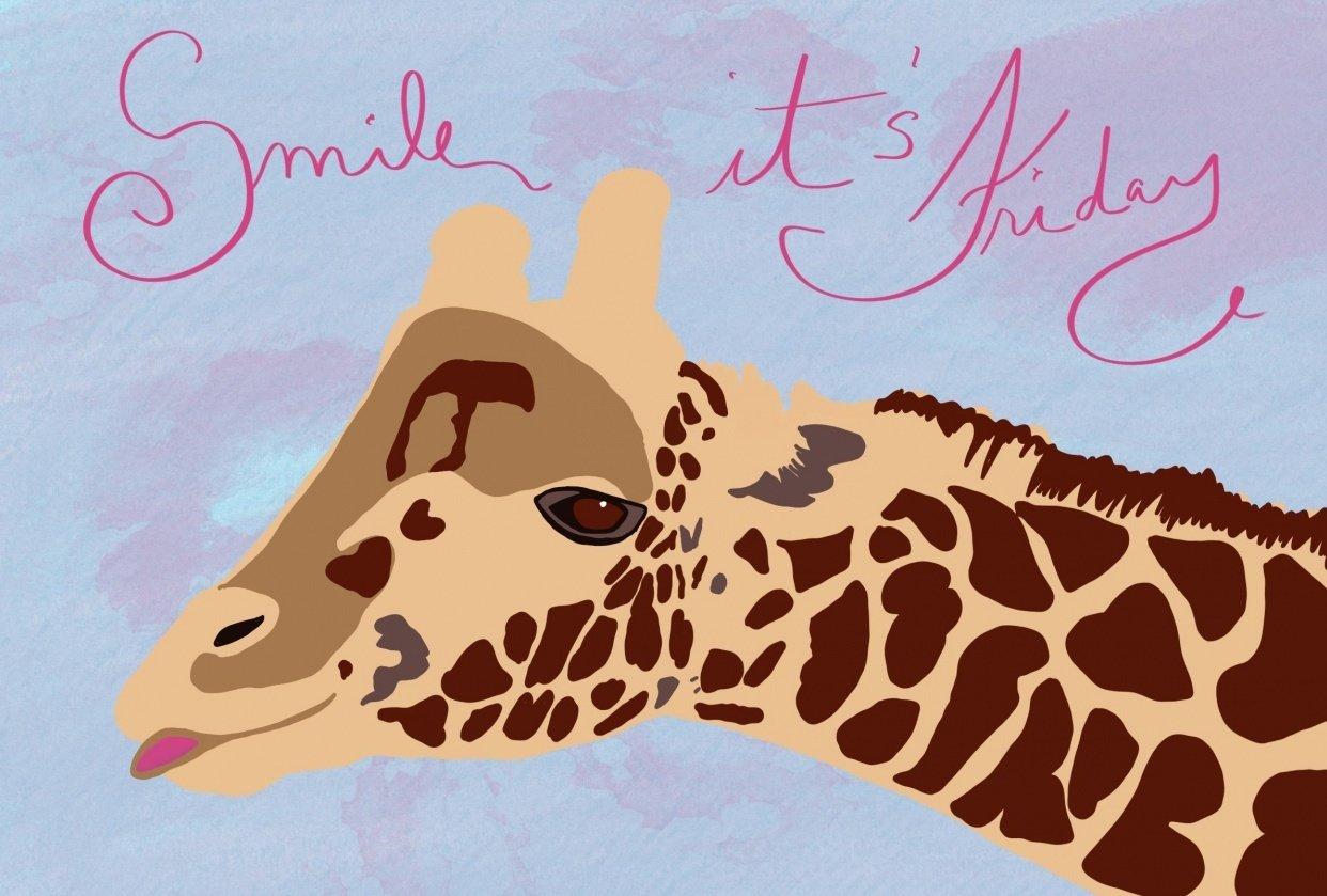 Happy Friday Giraffe! - student project