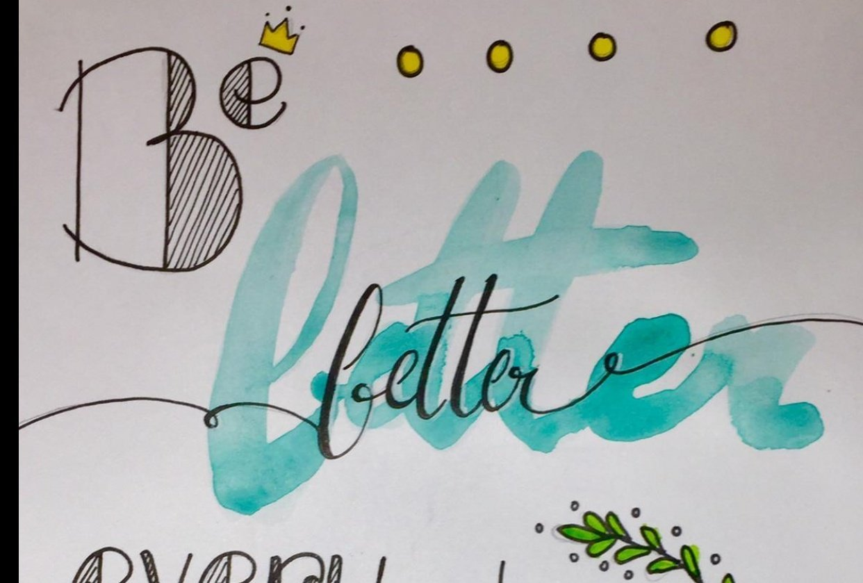 Lettering - student project