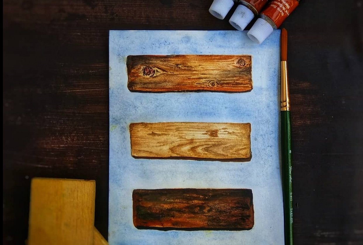 Wooden surfaces - student project