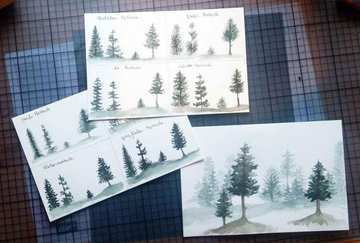 trees, trees, trees - student project