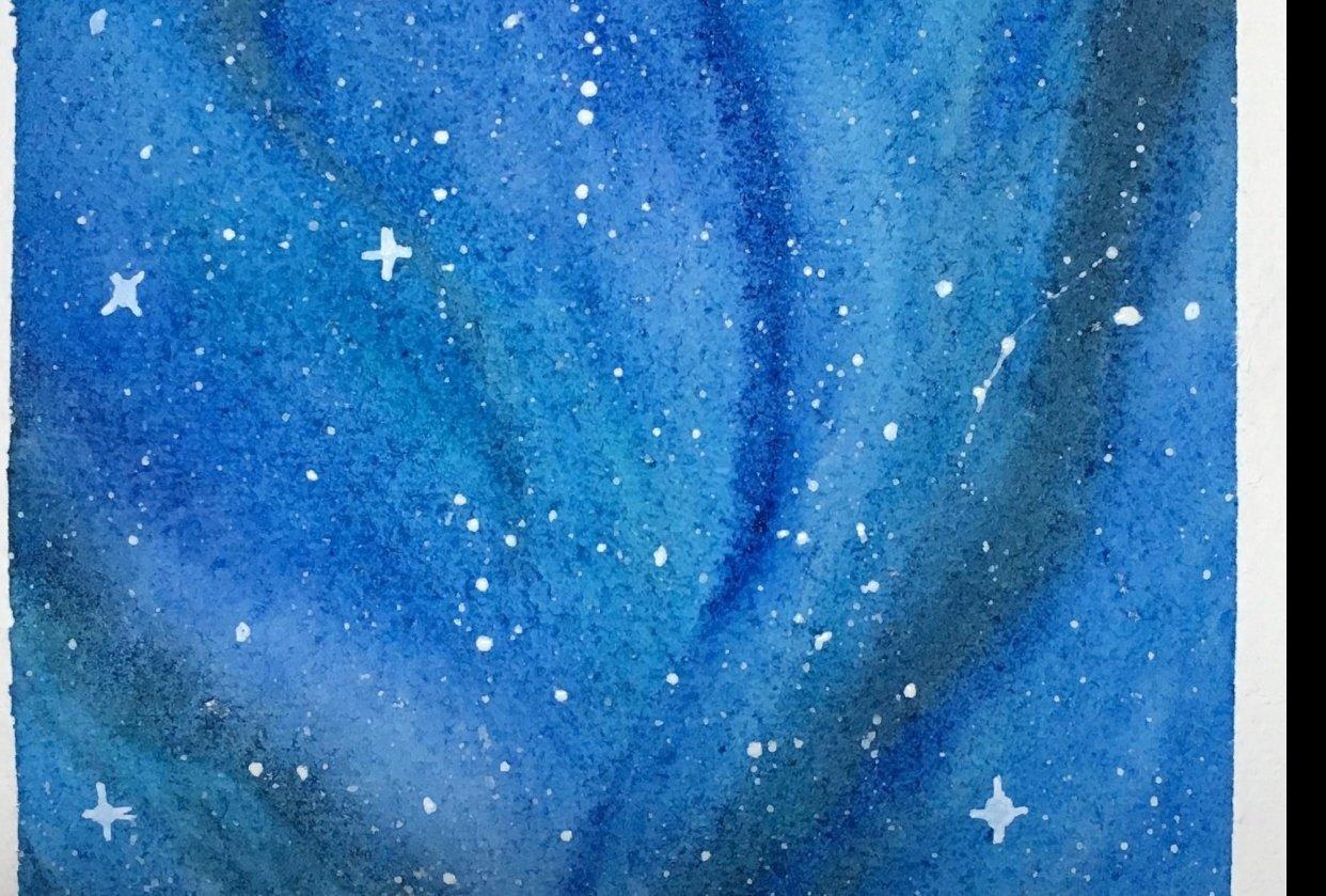 Night sky - student project
