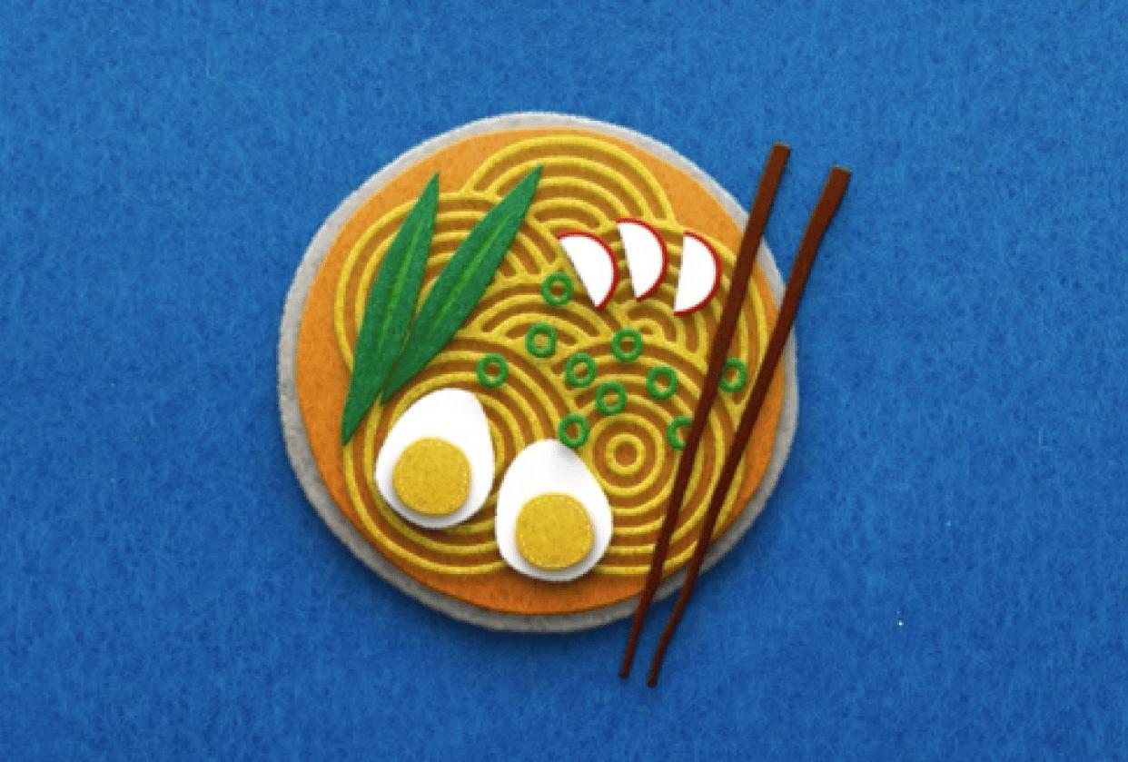 Ramen Dish - student project