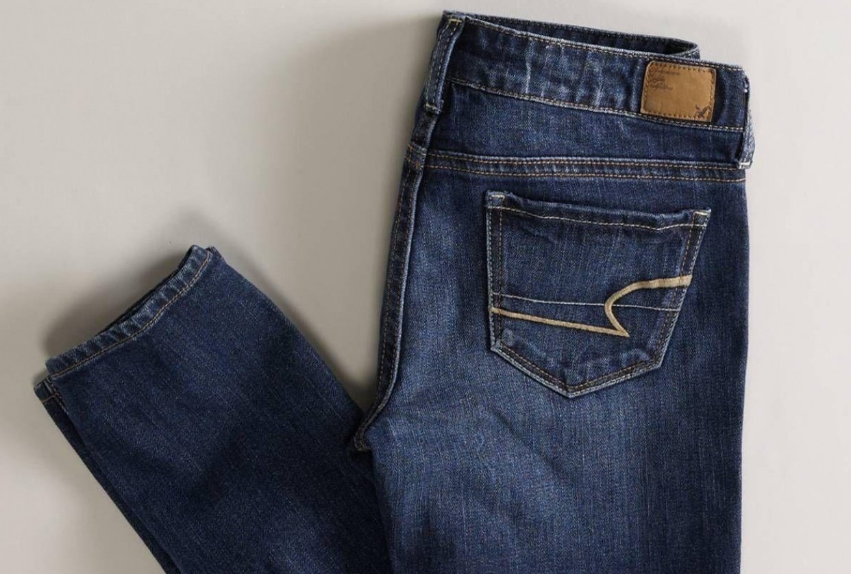 American Eagle Jean Queen - student project