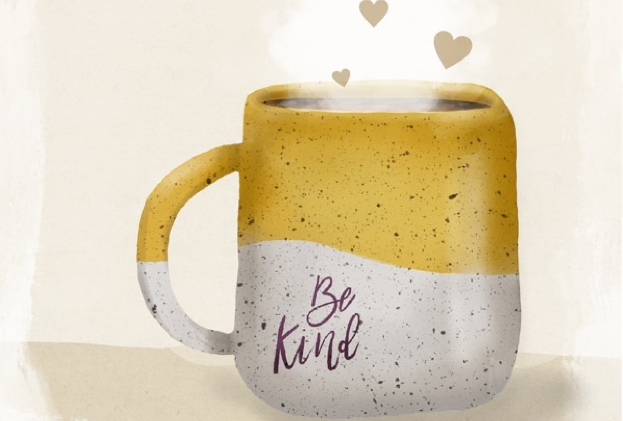 Drink coffee and be kind! - student project
