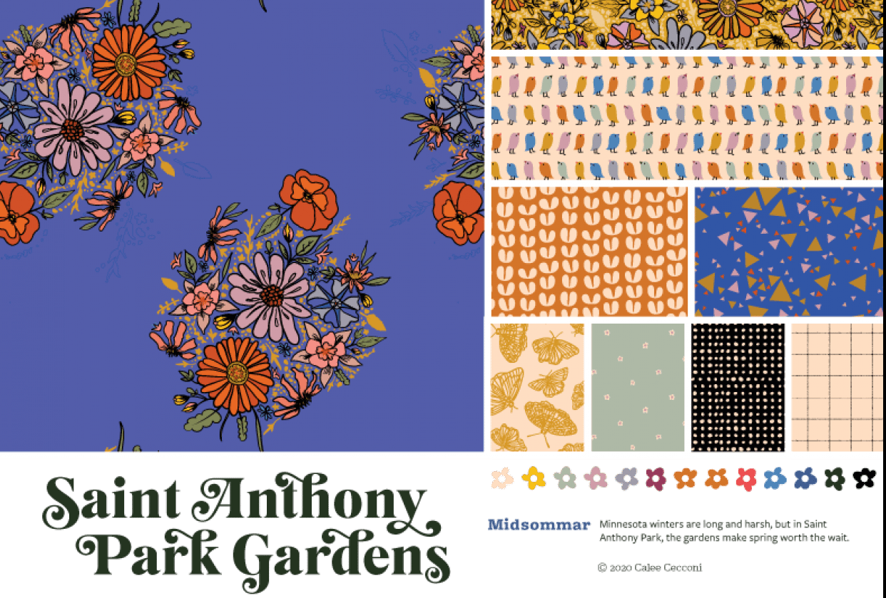 Saint Anthony Park Gardens Collection—Updated 2020 - student project