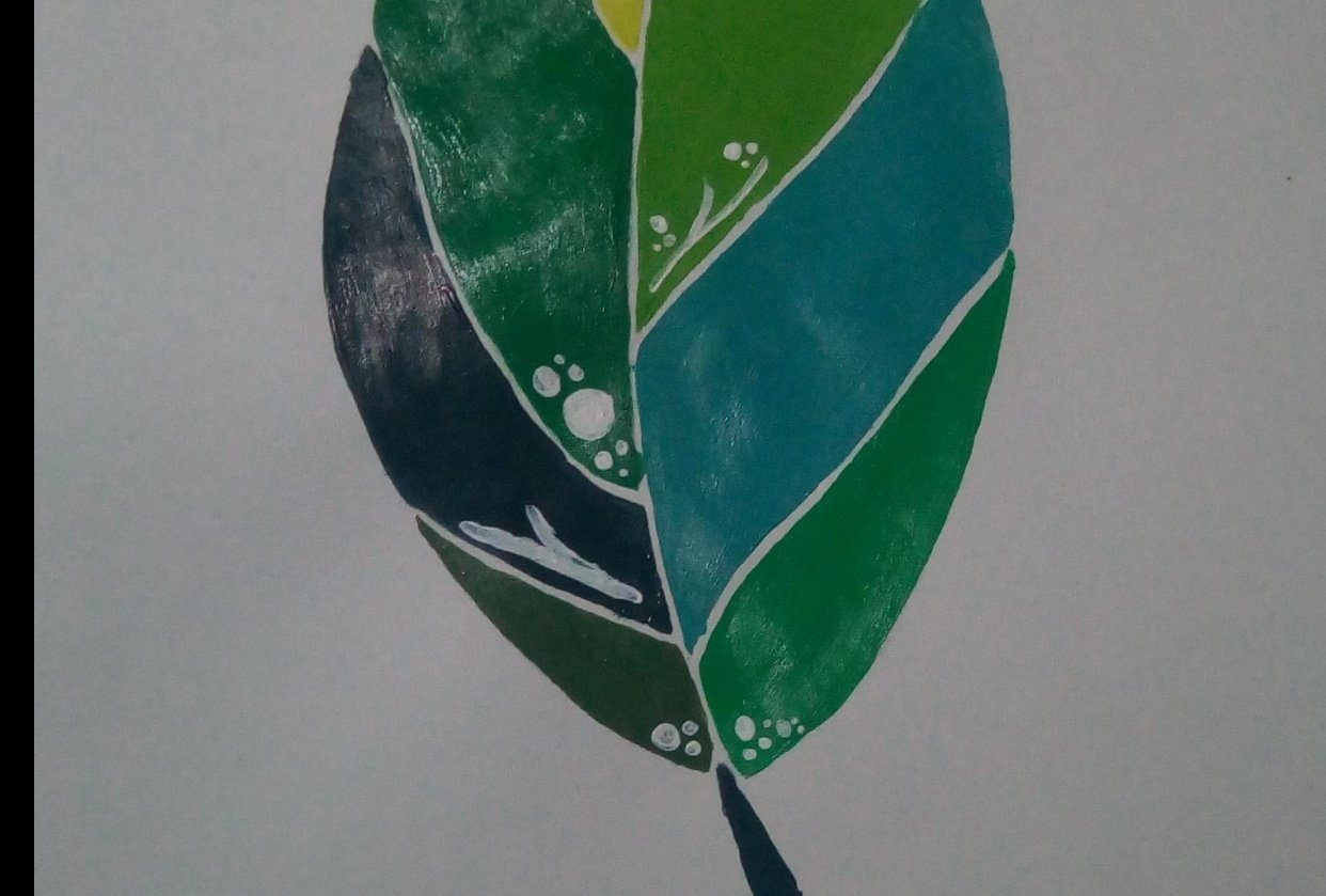 Tropical Leaf - student project