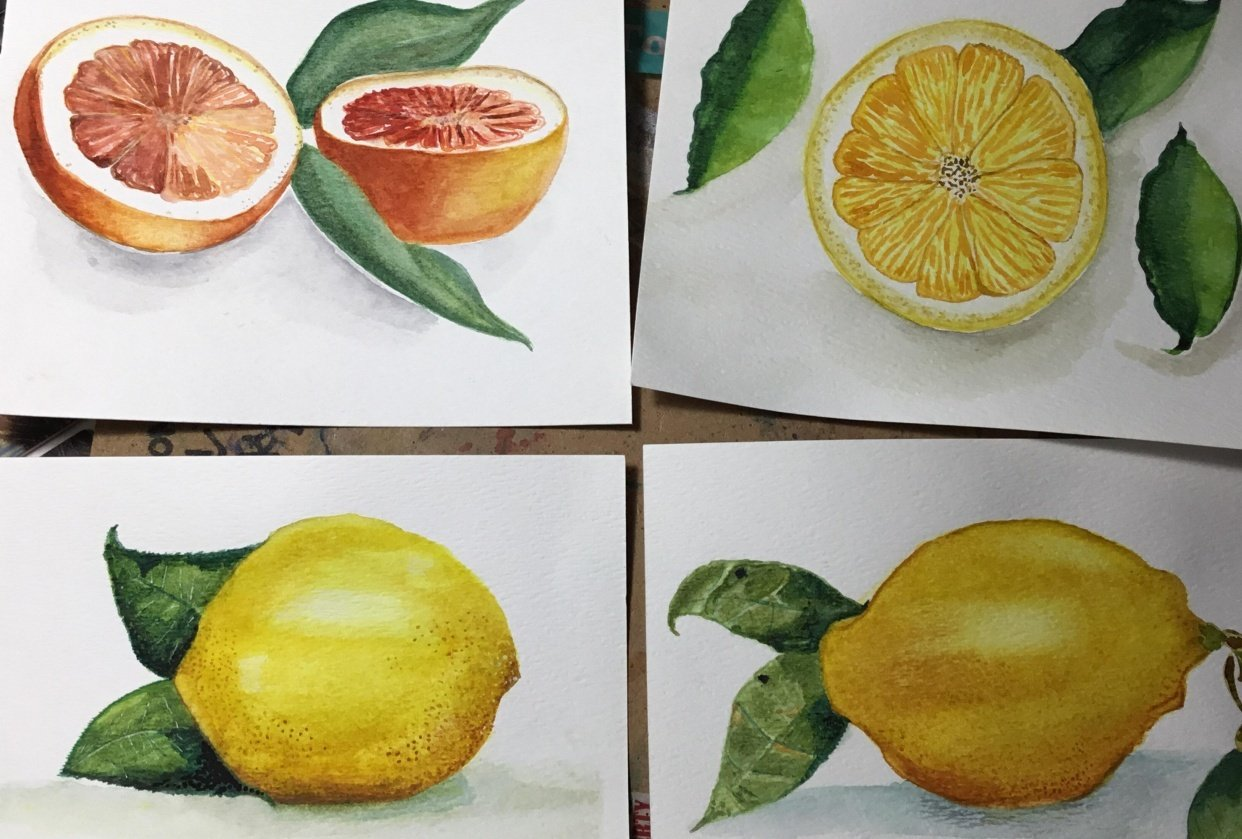 First fruit awesome class - student project