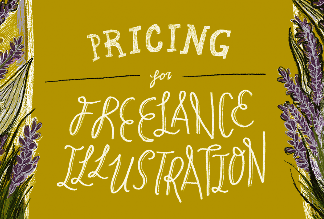 Pricing for Freelance Illustration - student project