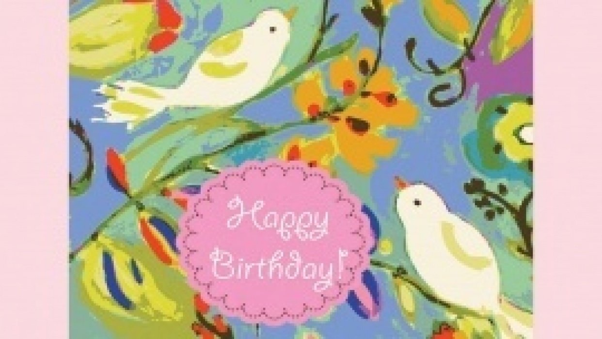 Card #6.......An Anniversary Card - student project