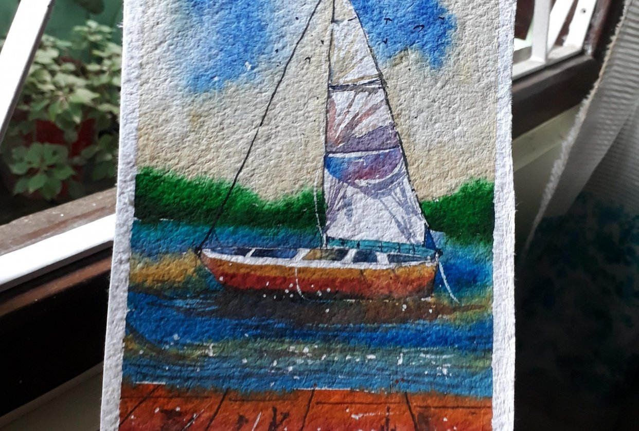 Sailboat - student project