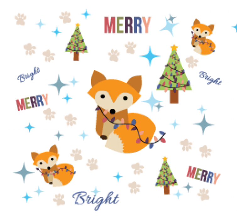 Fox- Merry and Bright - student project
