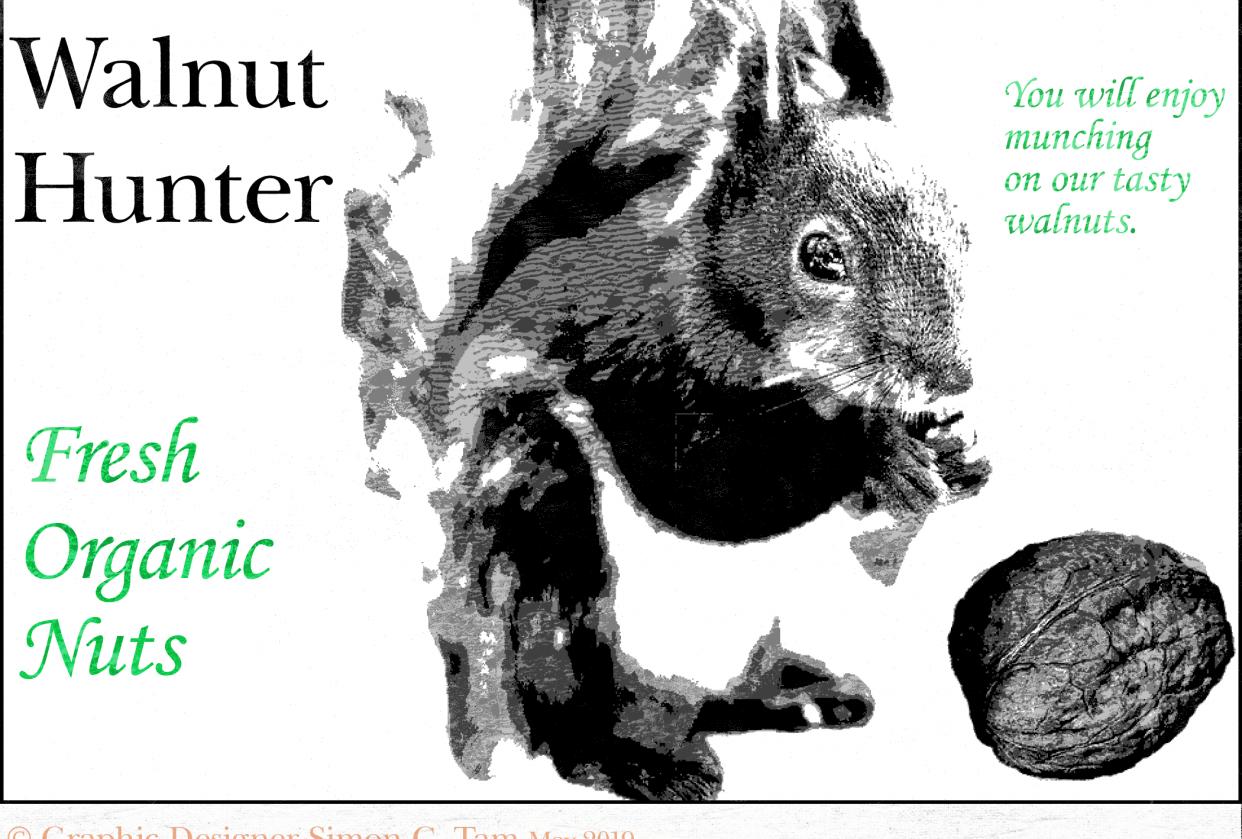 Walnut Hunter (LetterPress) - student project