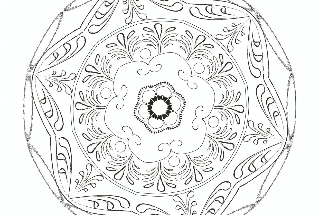 Inner Guidance Mandala - student project
