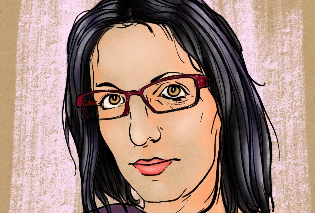 Digital self portrait - student project