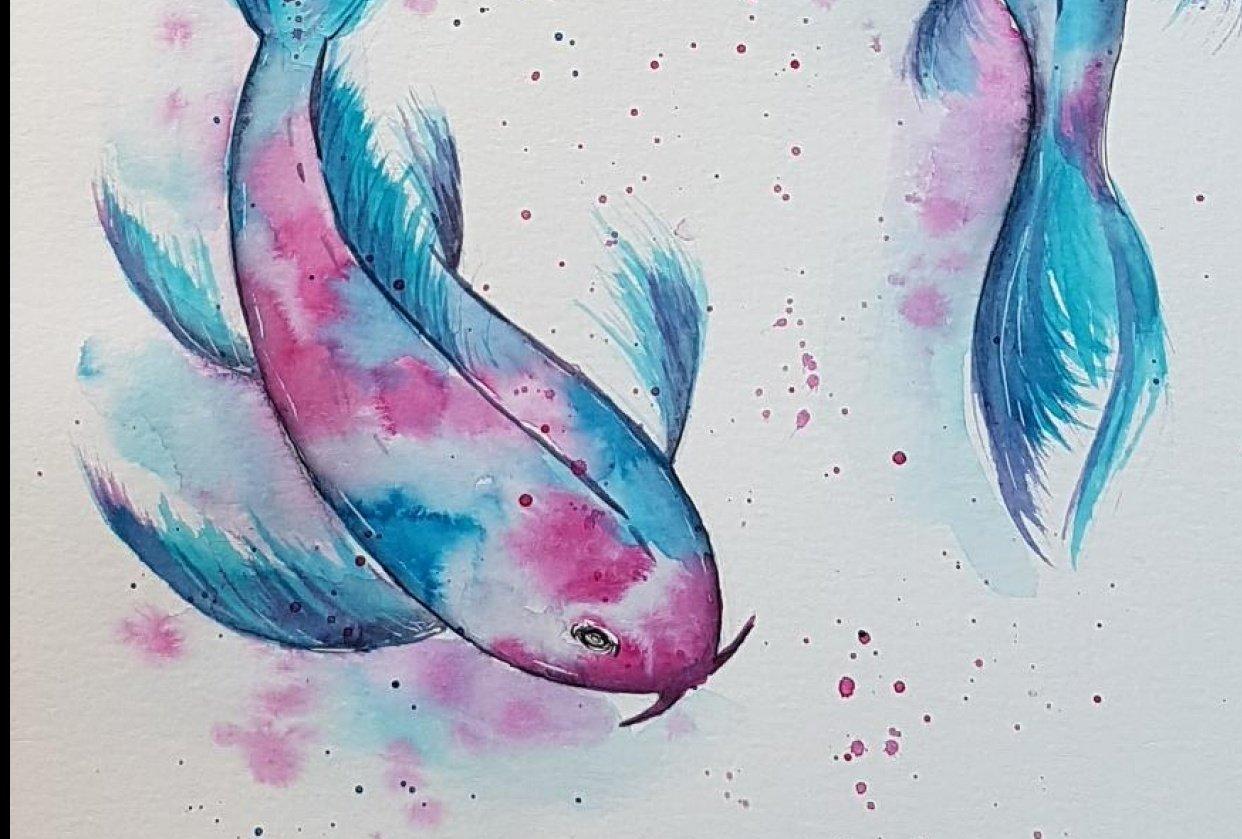 Koi Fish - student project