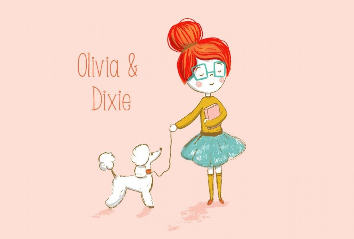 Olivia & Dixie - student project