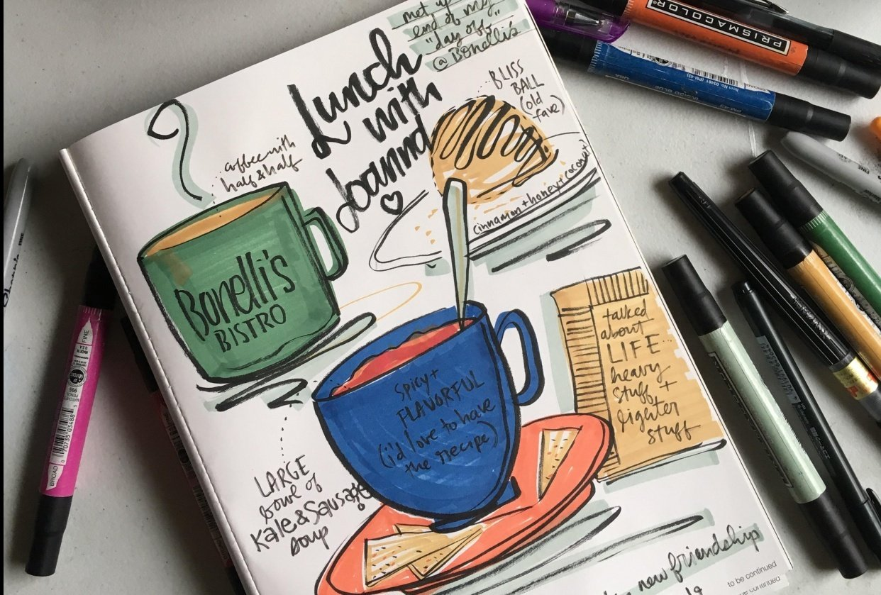 Lunch @ Bonelli's Bistro - student project