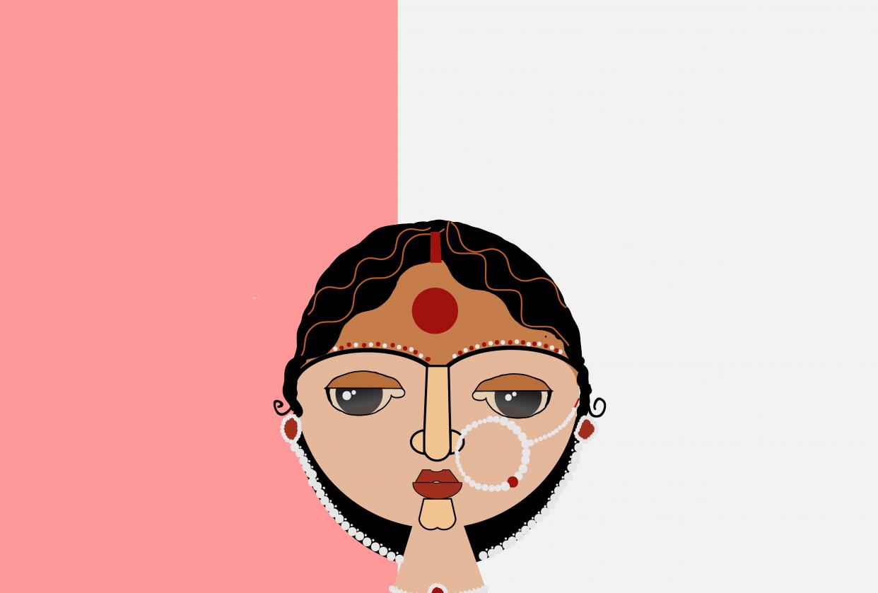 Bengali bride - student project