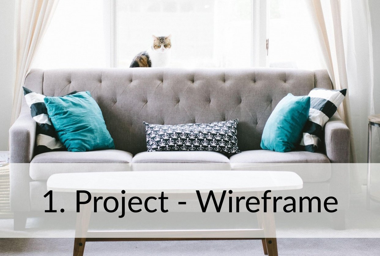 Class Project 01 – Wireframe Homepage & Contact Us Page - student project