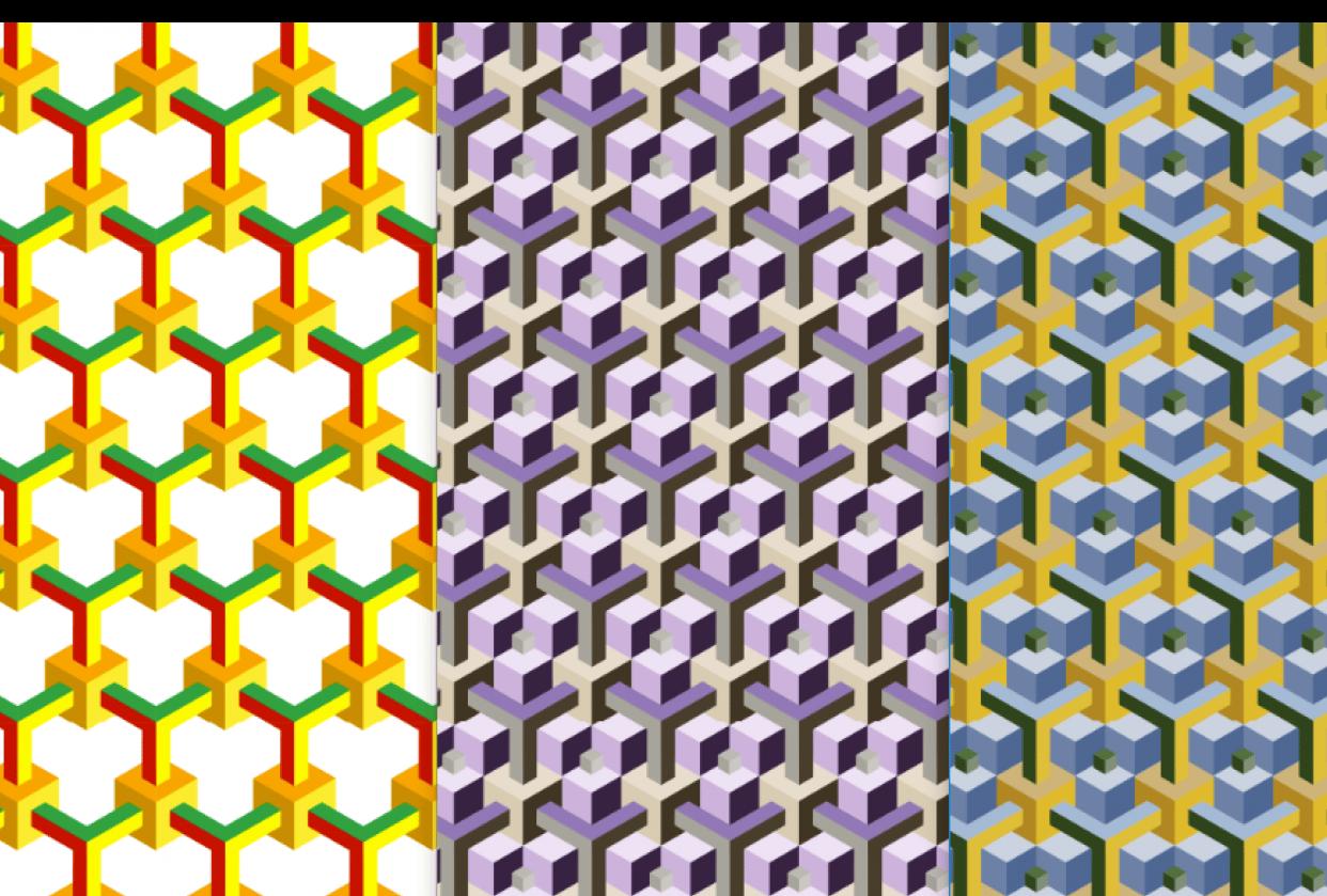 3D patterns - student project