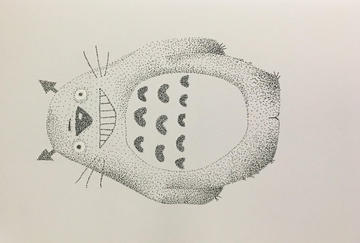 Stippling - student project