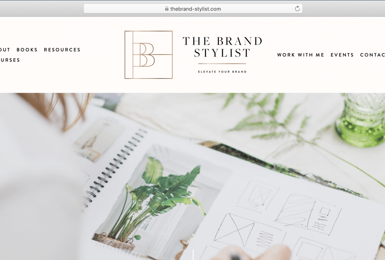 My Inspiration Website - student project