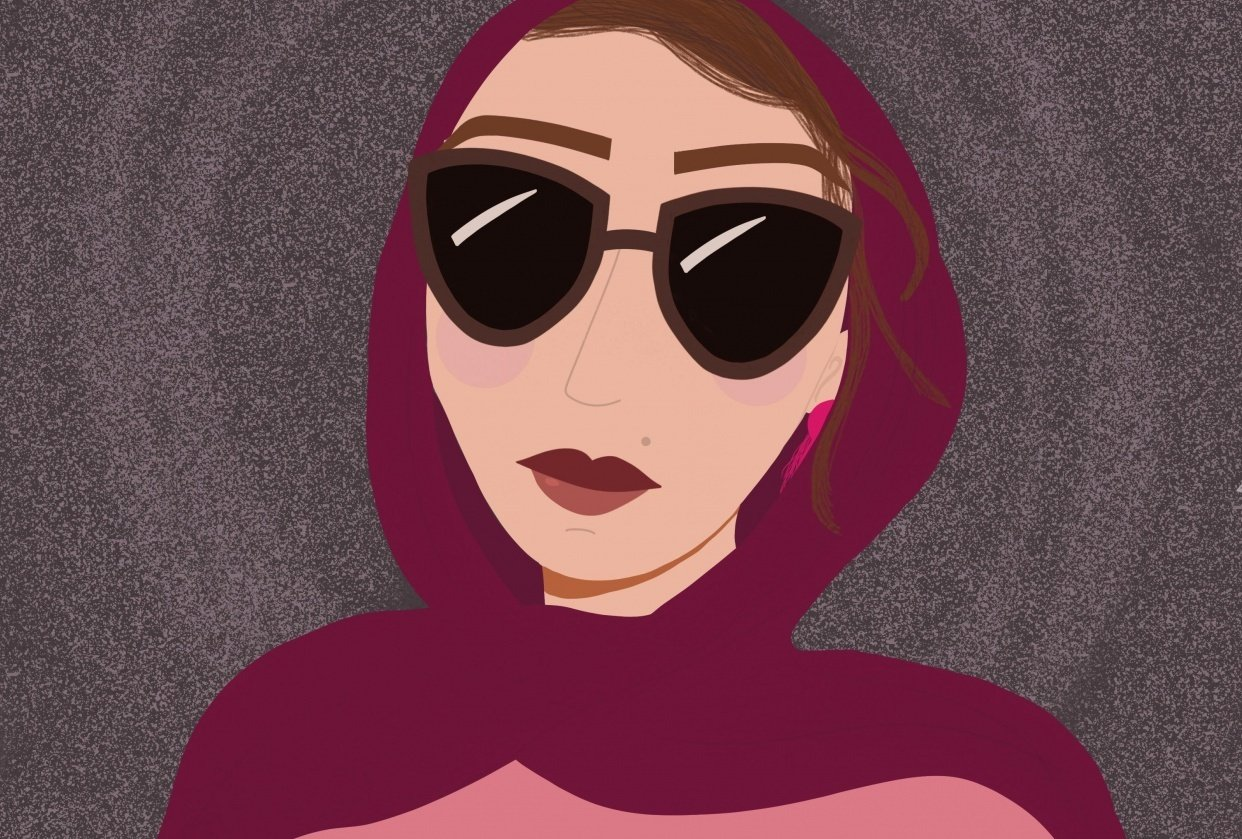 Fun with Faces: Hijabi Icon - student project