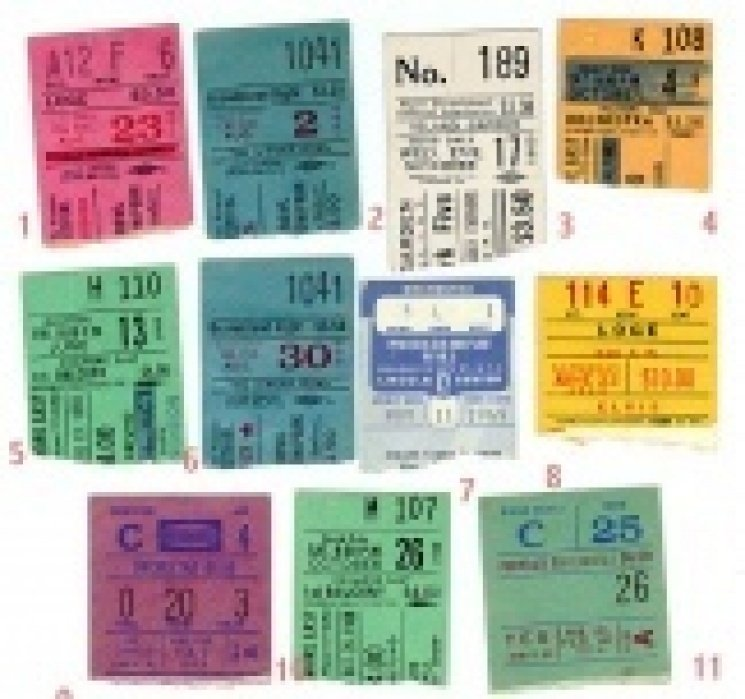 Ticket Stubs - student project
