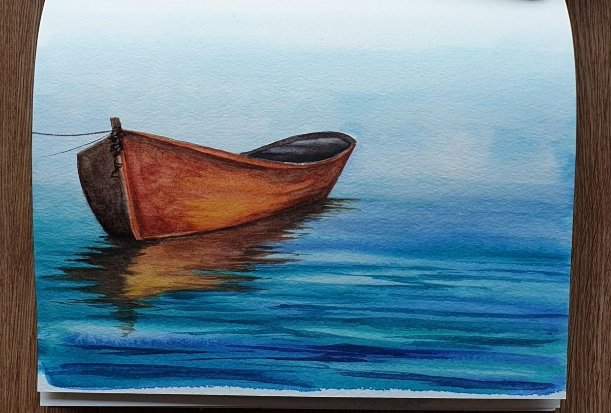 Sketchbook Boat - student project