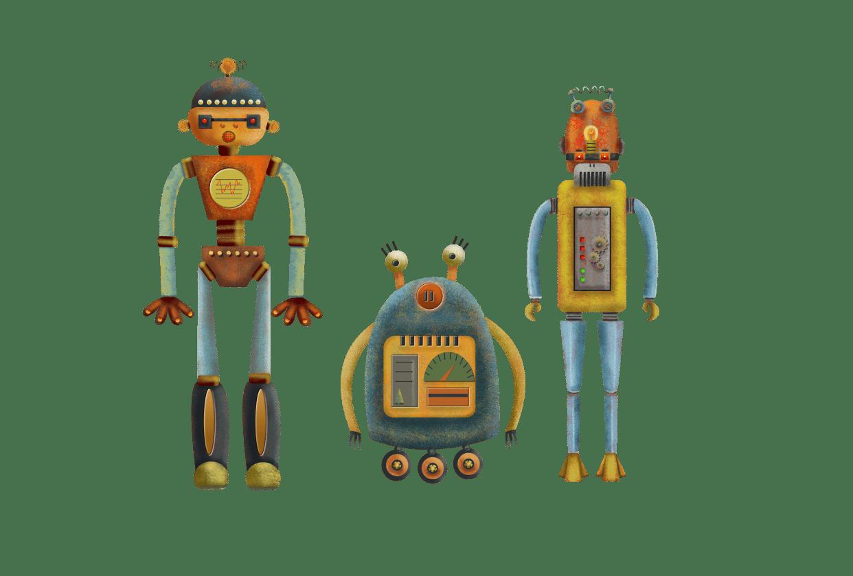 Vector robots - student project