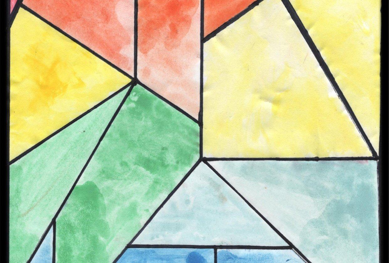 geometric rainbow - student project