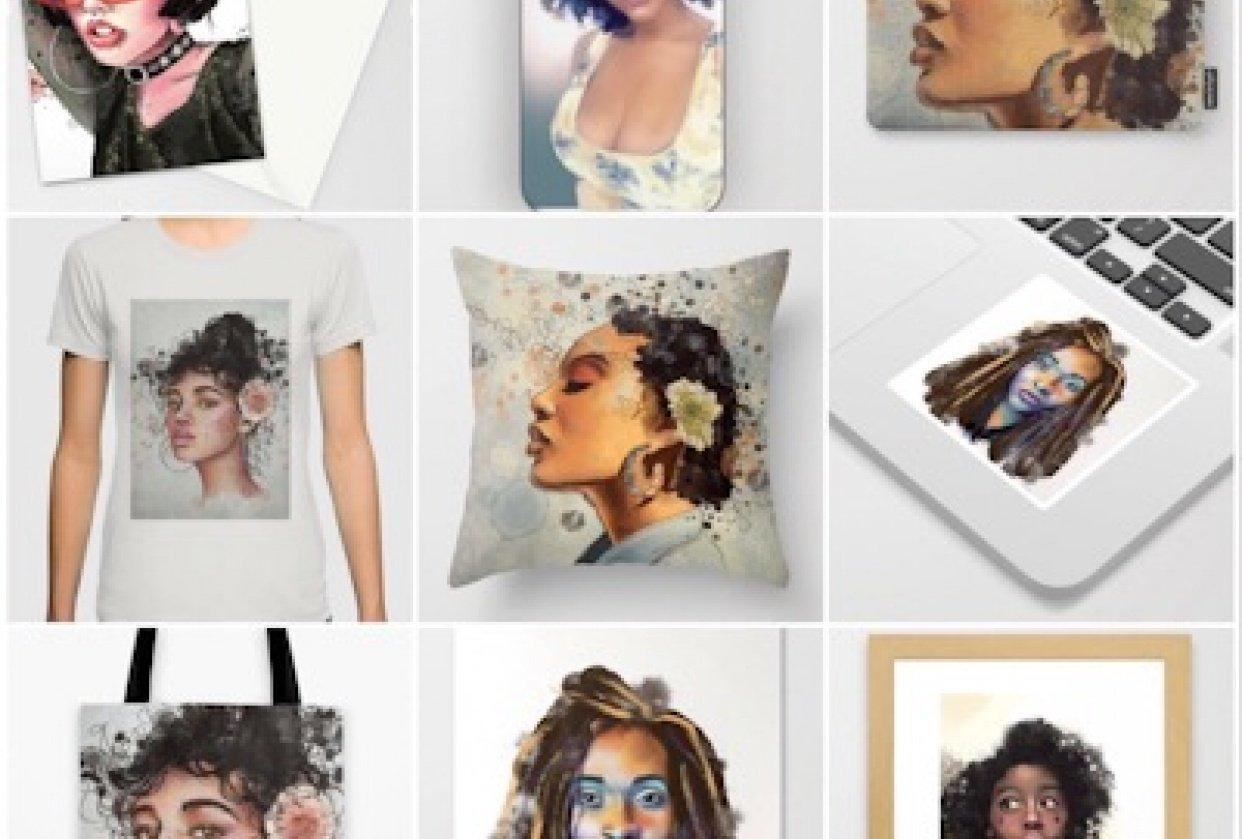 Society6 revamped - student project