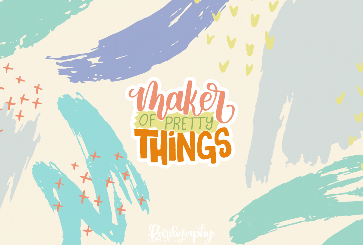 Maker of pretty things - student project