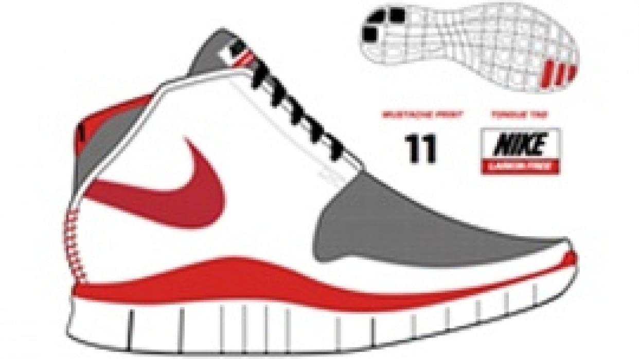 Nike Larkin Free Chukka - student project