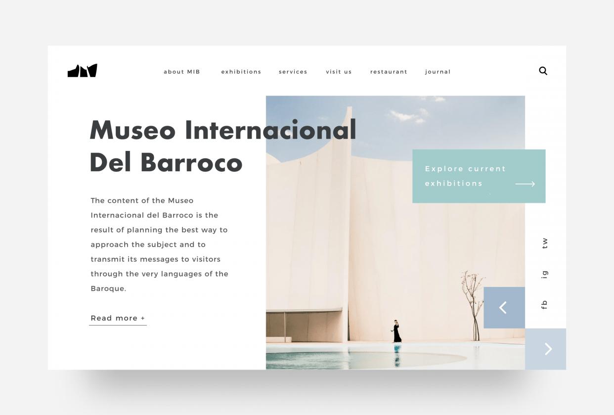 Museo Internacional de Barroco Puebla - student project