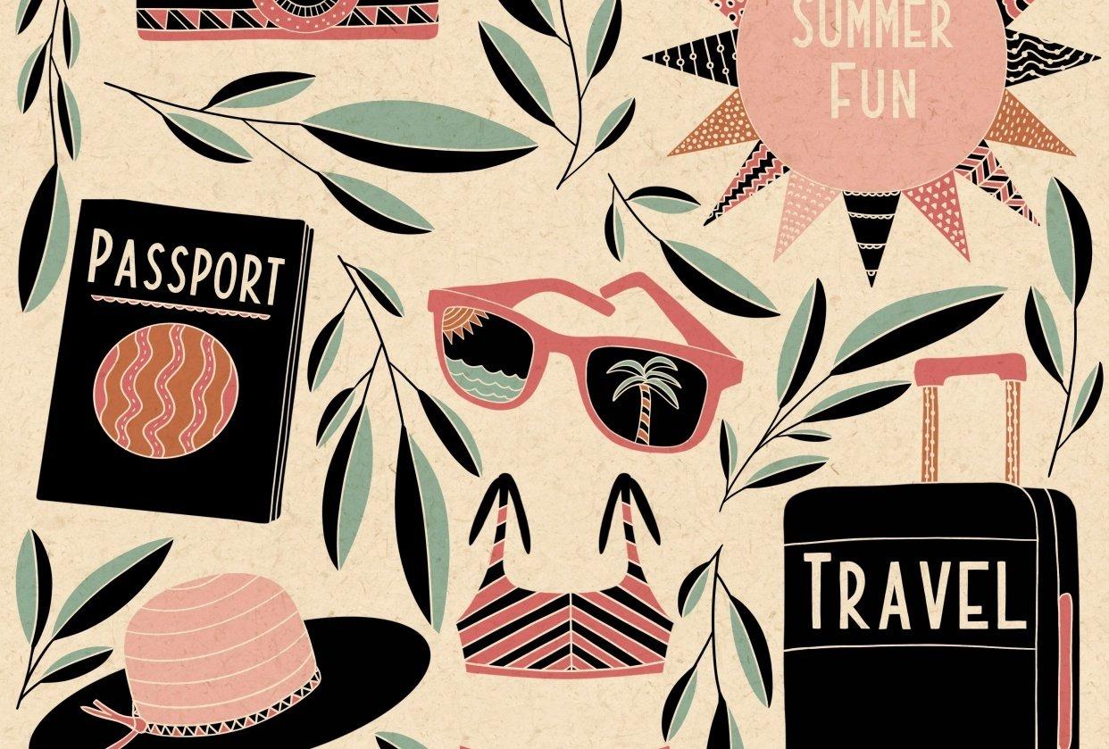 Folk Art Illustrations - student project