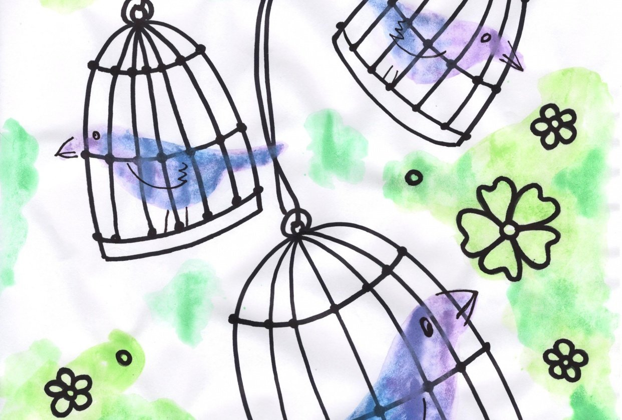 birds in cages 01 - student project