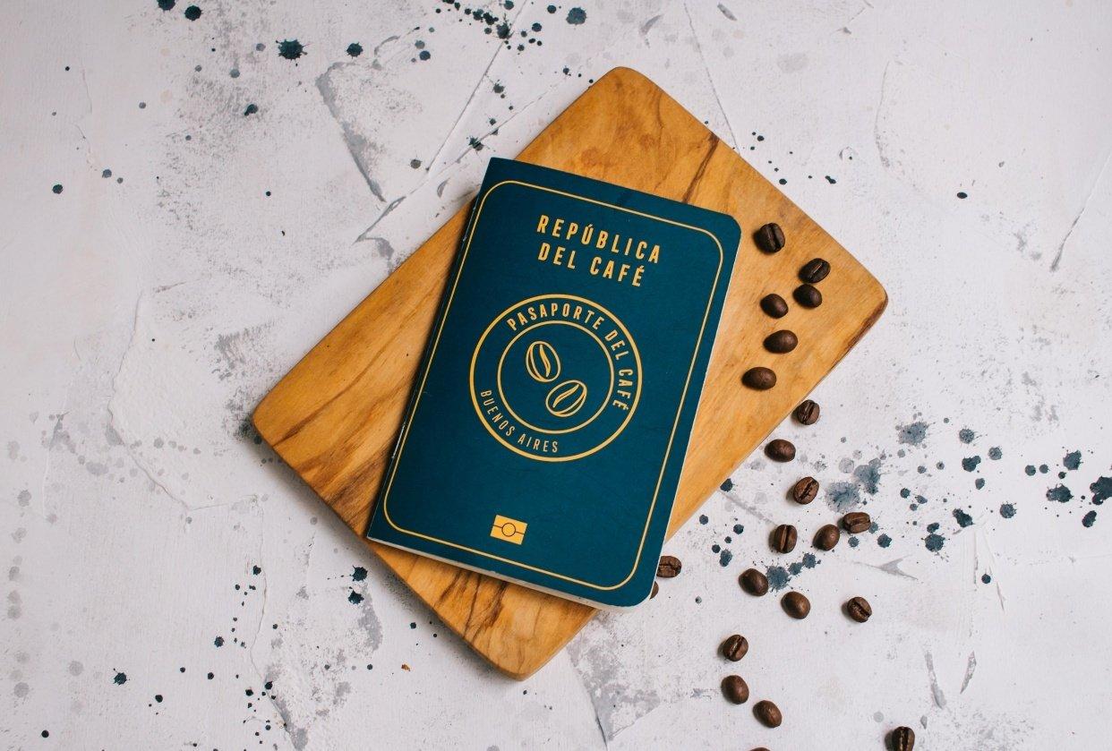 Coffee Passport - student project