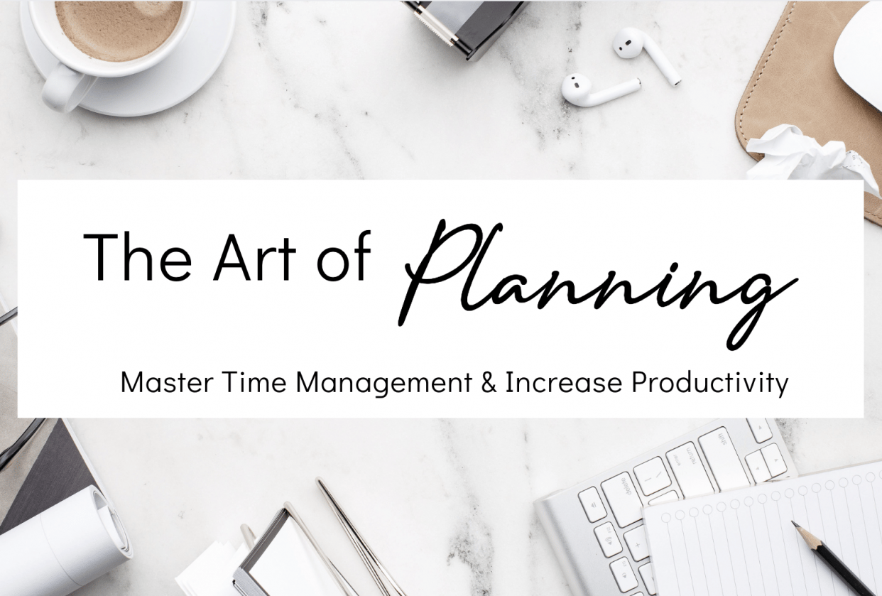 The Art of Planning: Skyrocket Your Productivity - student project