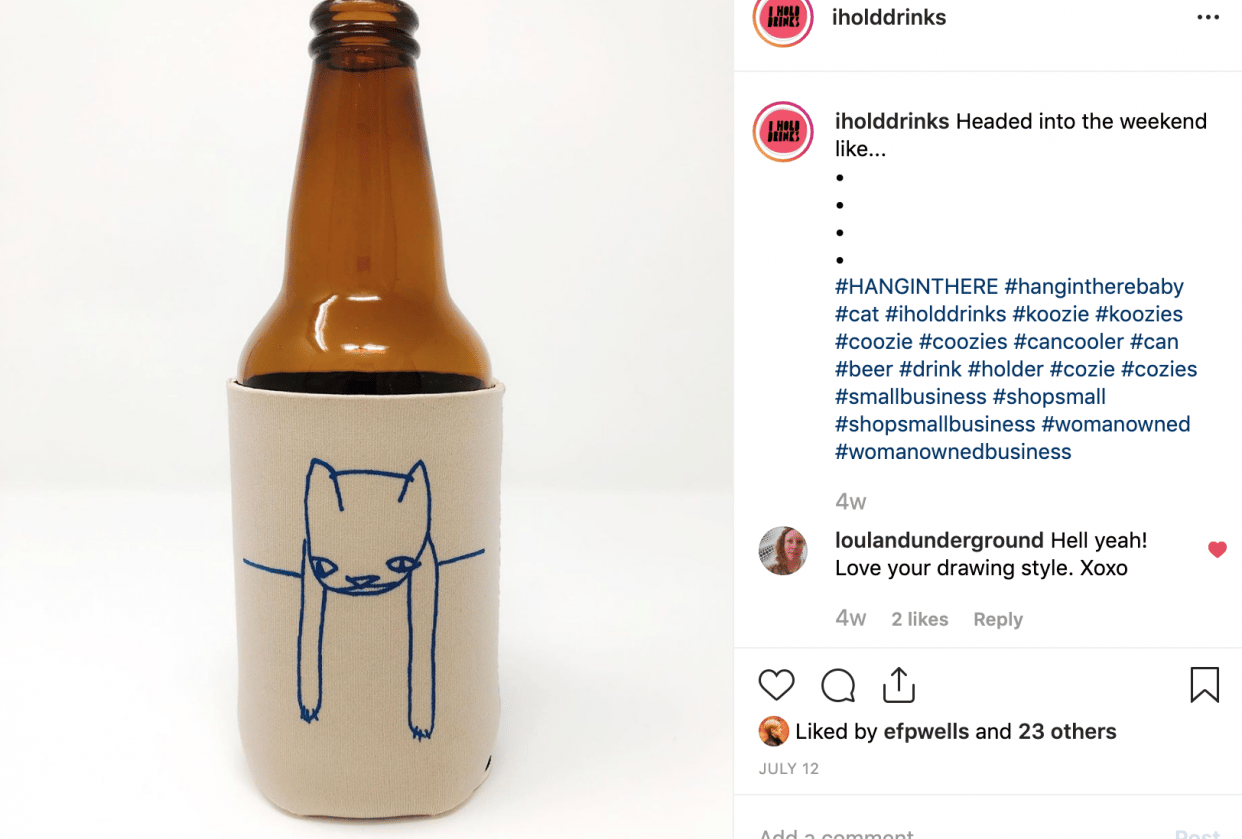 I Hold Drinks - student project