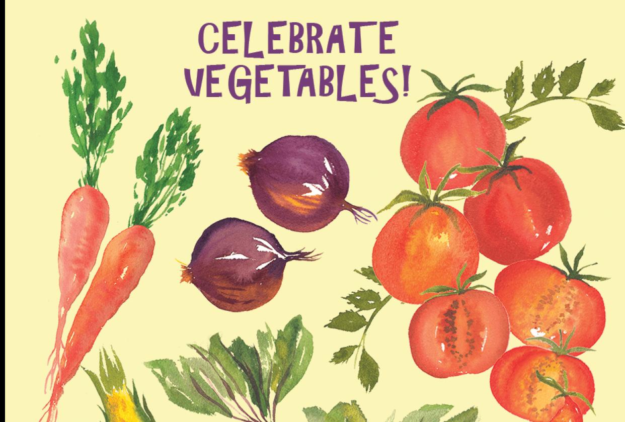 celebrate veggies - student project