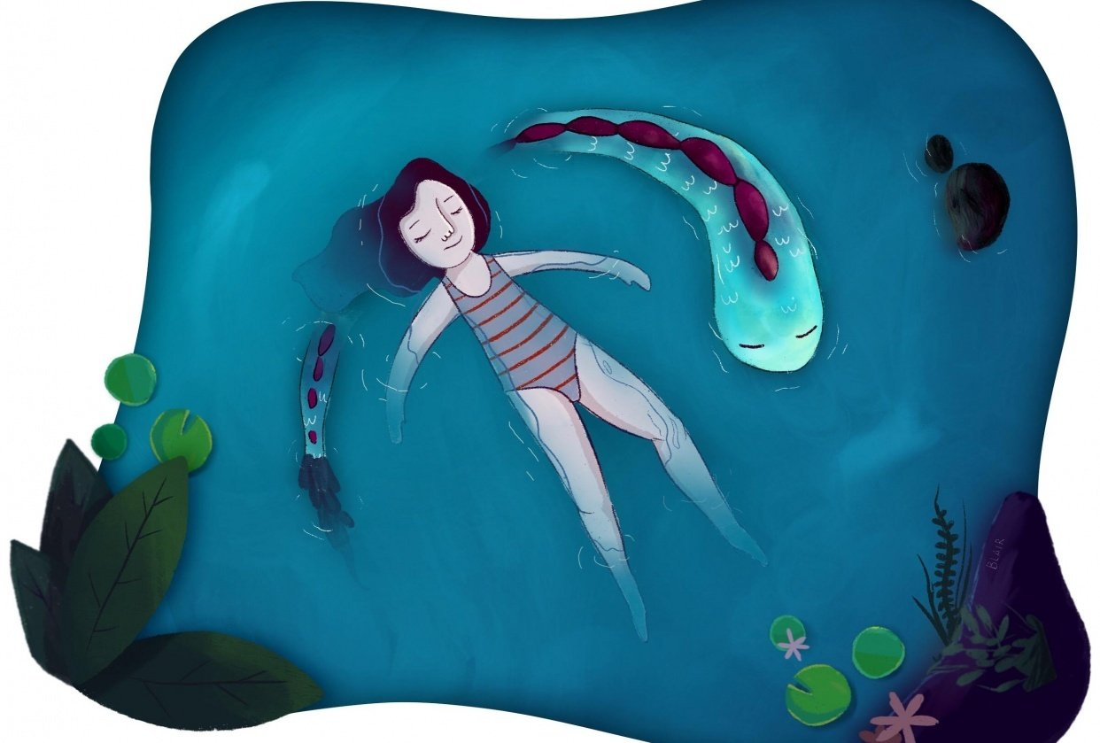 Swimming with Sea Creatures - student project