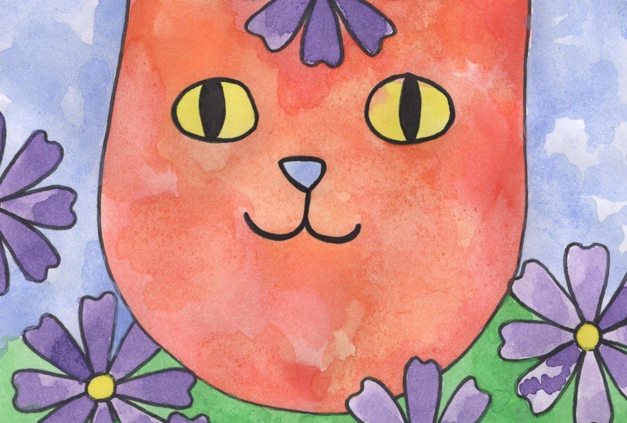 Garden Cat - student project