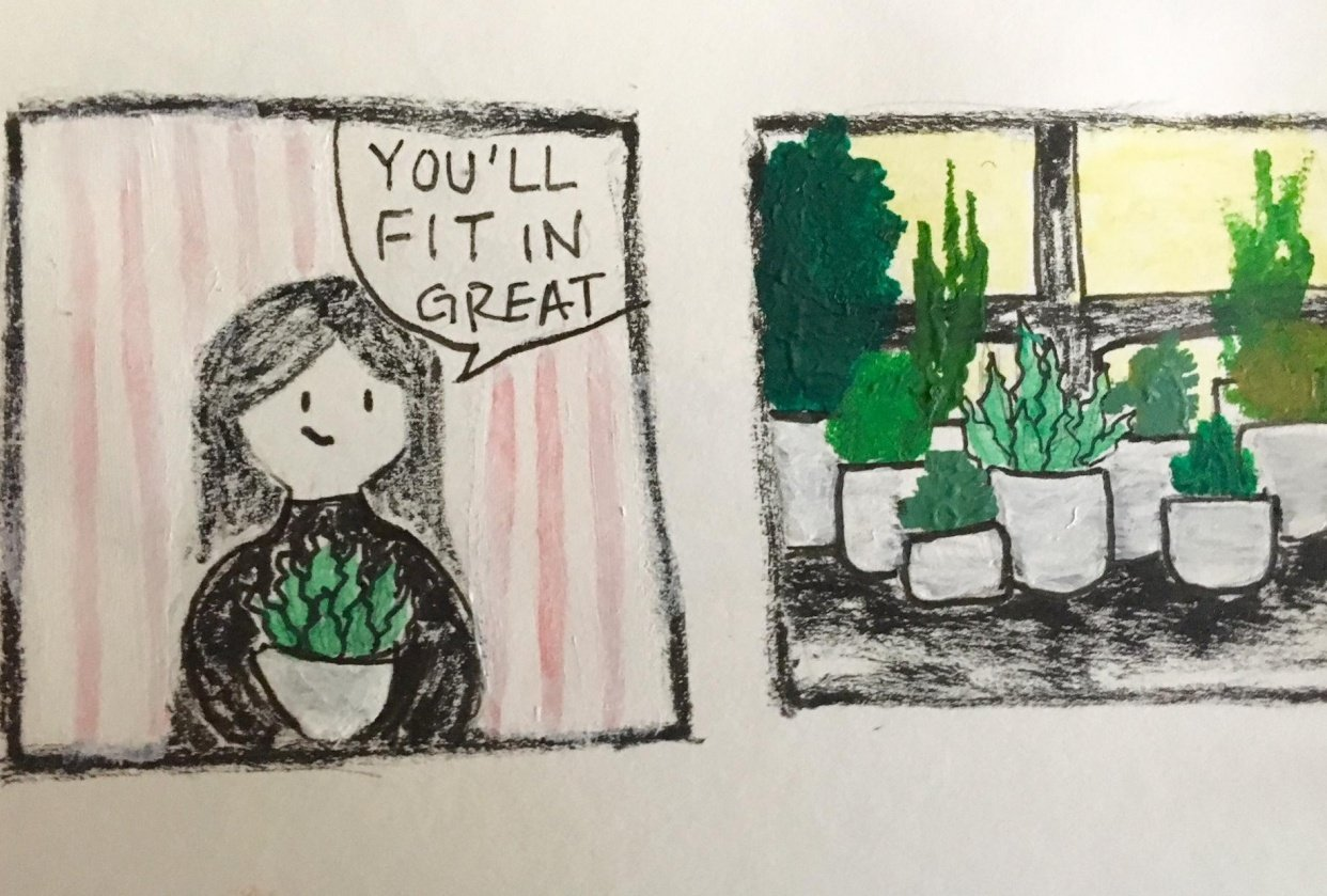 Plant Obsession - student project
