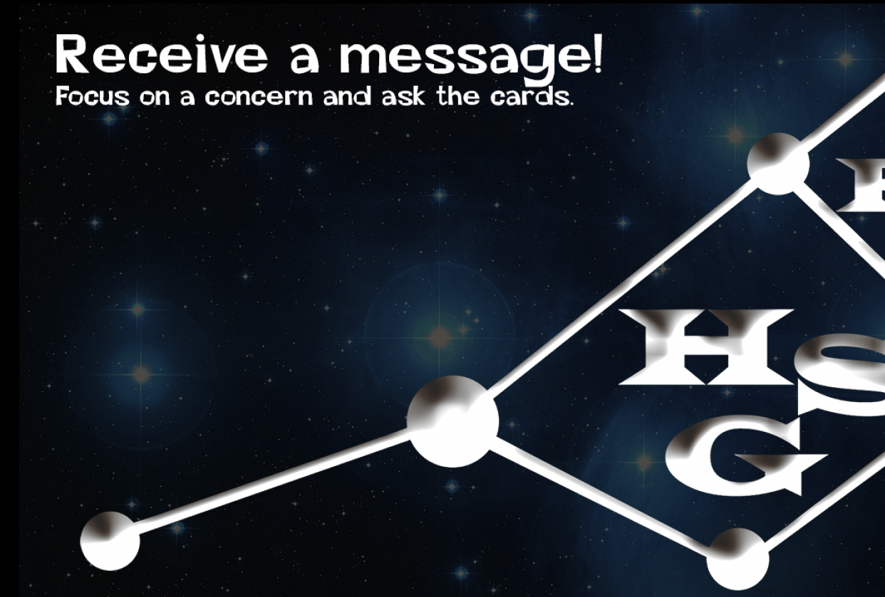 Receive a message from the cards. - student project
