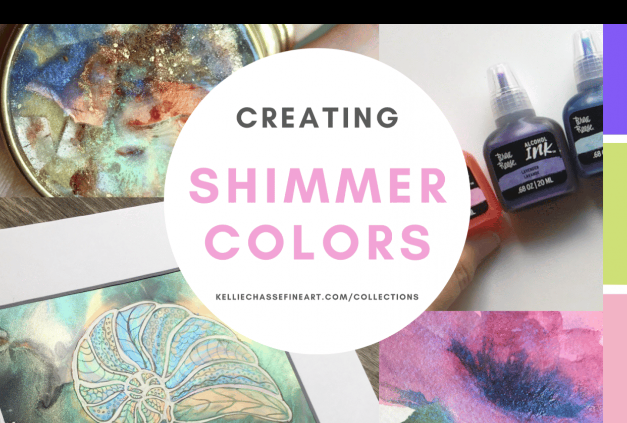 Creating Shimmer Paints - student project
